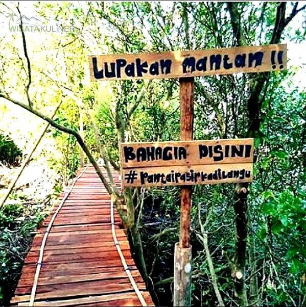 Lokasi Pantai Pasir Kadilangu