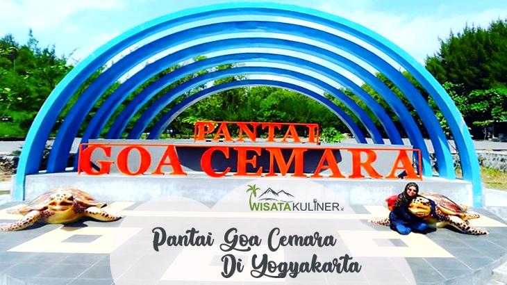 Wisata Pantai Goa Cemara