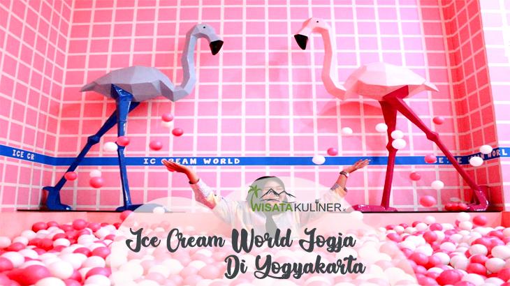 wisata Ice Cream World Jogja