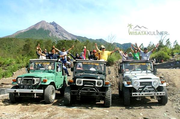 Harga Tiket dan Parkir Jeep Wisata Mangunan