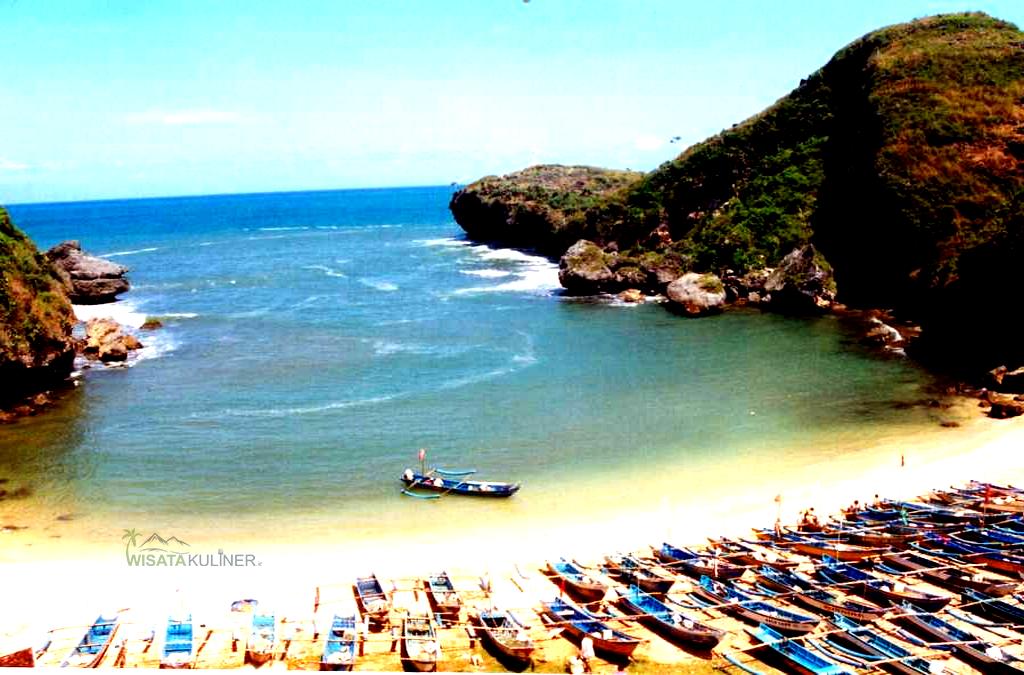 Lokasi Pantai Mbongosan