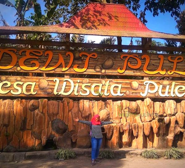 Lokasi Wisata Desa Pulesari
