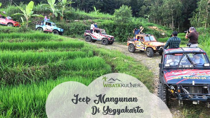 Wisata Jeep Mangunan