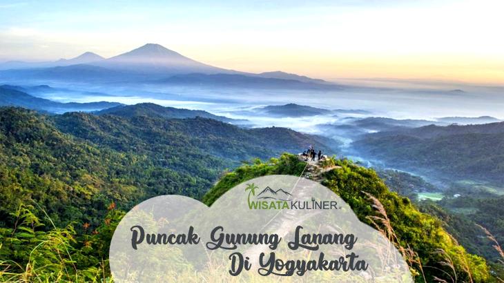 Wisata Puncak Gunung Lanang