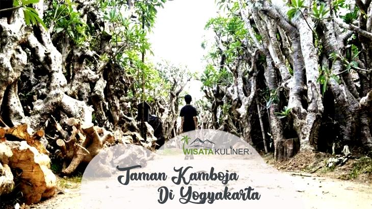 Wisata Taman Kamboja Klaten