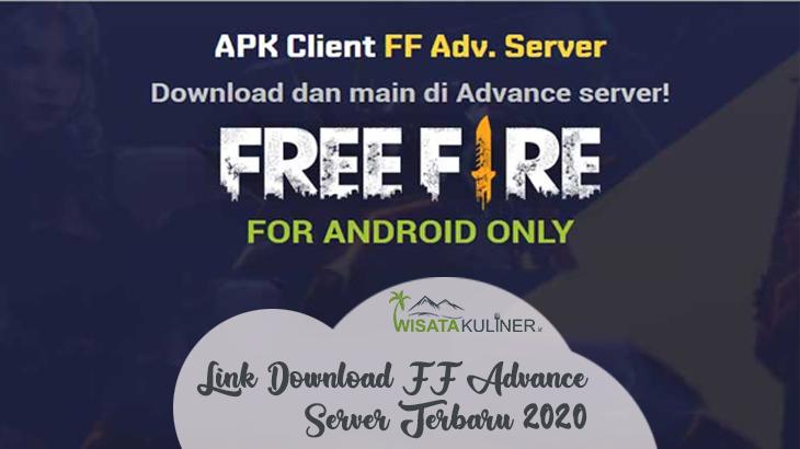 Link Download FF Advance Server Garena Terbaru 2020