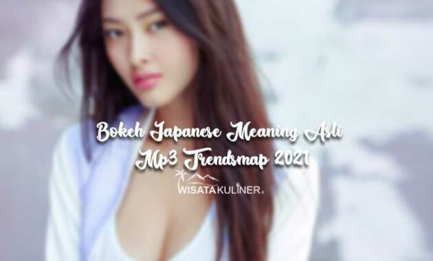 Bokeh Japanese Meaning Asli Mp3 Trendsmap